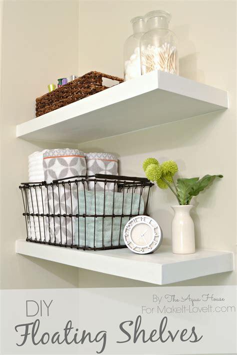 floating book shelves diy floating shelves a great storage solution 3772