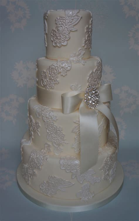 lace applique lace applique wedding cake cakecentral