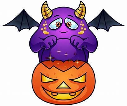 Monster Halloween Clipart Purple Transparent Mad Tubes