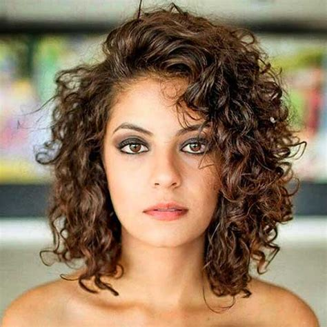 how to style permed curly hair fantastic curly wavy hairstyles for stylish