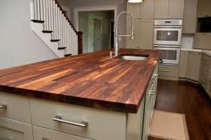 kitchen island butcher block tops custom walnut butcher block counter contemporary kitchen countertops atlanta by woodology