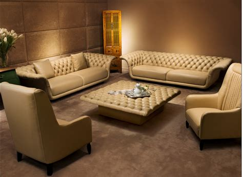 sectional and ottoman 10 luxury leather sofa set designs that will you