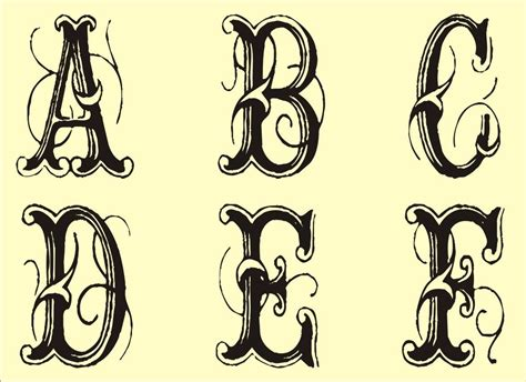 monogram stencils printable alphabet stencils