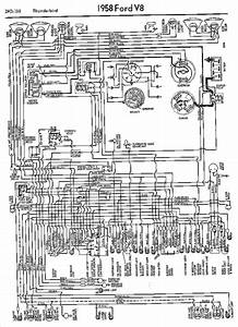Wiring Diagrams Of 1958 Ford Thunderbird  60699
