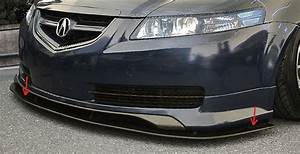 Custom Acura TL 2007 Front Add On Lip Sarona