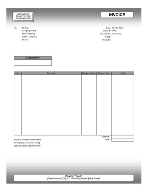 invoice  google docs invoice template ideas