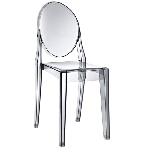 philippe starck style ghost side chair