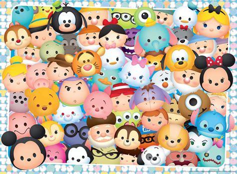 Puzzle Disney Tsum Tsum Ravensburger-10593 100 Pièces