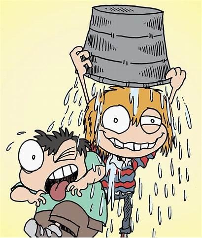Challenge Bucket Ice Clipart Als Clip Cartoon