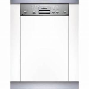 Déboucher Un Lave Vaisselle : brandt vs1010x lave vaisselle 45cm encastrable a lave ~ Dailycaller-alerts.com Idées de Décoration