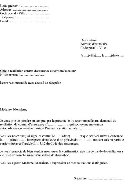 Lettre De Resiliation Bail Meuble Lettre Preavis Appartement Meuble Lettre Resiliation