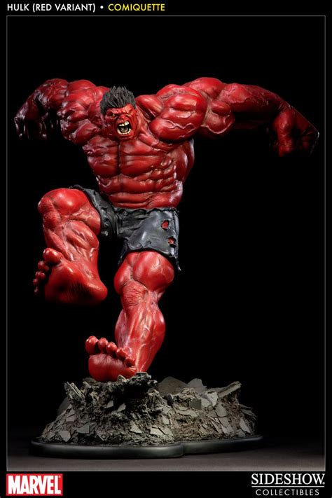 Red Hulk Comiquette - Polystone Statue Sideshow Collectibles