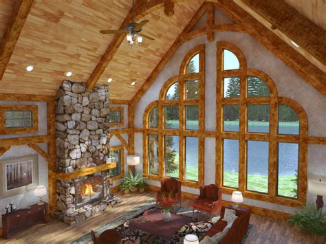 cottage home plans small golden eagle log and timber homes exposed beam timber