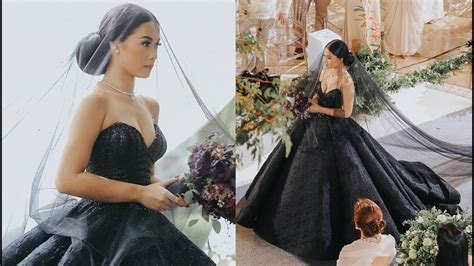 be elegant black wedding dress fashjourney com