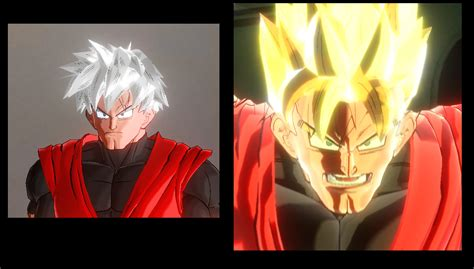 male hair   future gohans ssj hairstyle xenoverse mods