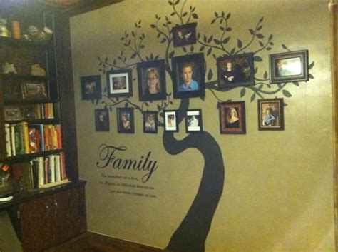 Custom Family Tree Large Wall Mural By Reclaimed Layne
