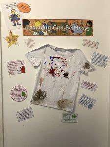 messy play nursery lochardil primary school