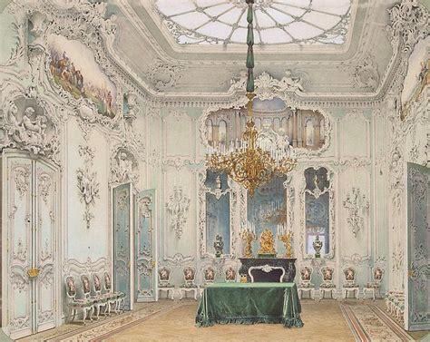 interiors   winter palace  green dining room