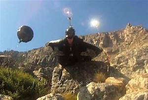 Man in a Wingsuit Crashes Against a Mountain at 120 MPH