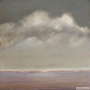 tableau peinture contemporaine paysage abstrait ciel With couleur gris bleu peinture 4 tableau peinture contemporaine paysage minimaliste