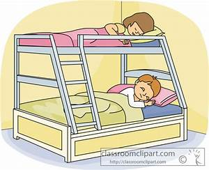 Children Clipart- kids_sleeping_in_a_bunk_bed - Classroom ...