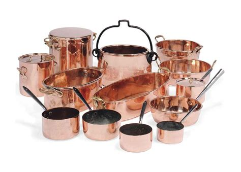 batterie cuisine an assembled copper batterie de cuisine most