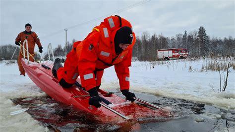VUGD: Šobrīd atrasties uz ledus ir ļoti bīstami - olaine.lv