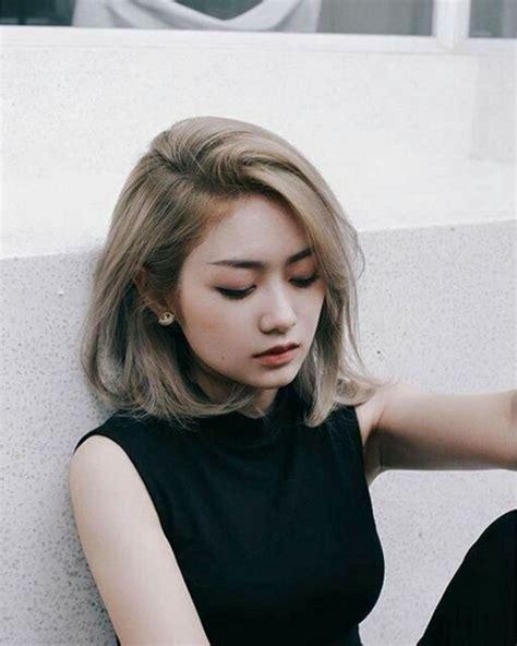 Korean Hairstyles For Short Hair 2018 22 Haircuts