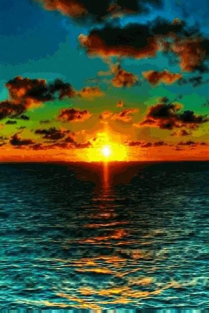 Sunset Sunrise Nature Amazing Ocean Sunsets Landscape