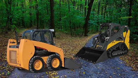 major differences  compact track loaders skid steer loaders final drive parts