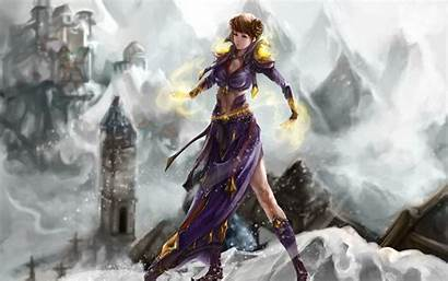 Anime Fantasy Wallpapers 3d Background Dark Angel