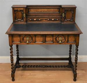 19th Century Shapland And Petter Oak Desk  With Images