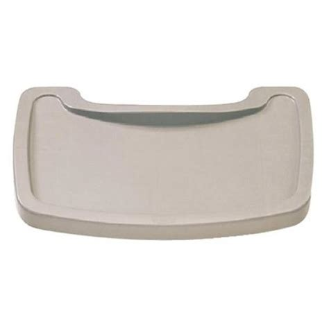 rubbermaid tray for baby high chair platinum single