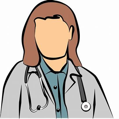 Doctor Clipart Female Clip Cliparts Hospital Background