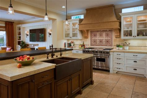 Mediterranean Haven   Mediterranean   Kitchen   Orange