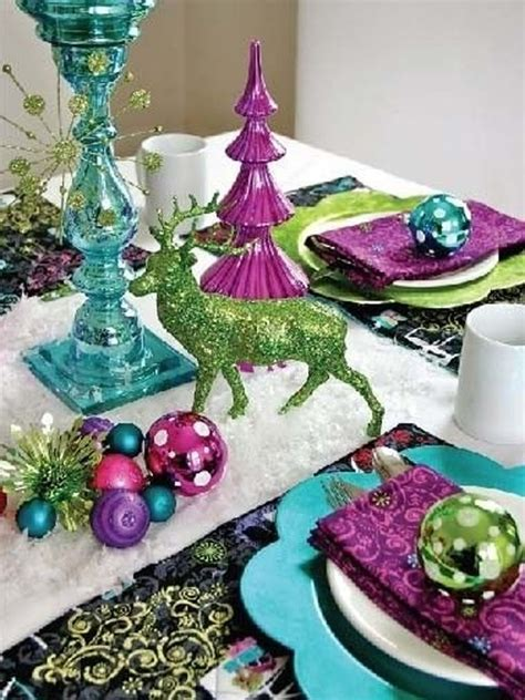 amazing white christmas table settings