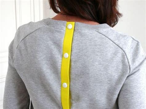 tuto robe de chambre les 25 meilleures idées concernant customisation de pull