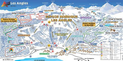 domaine skiable les angles station et pistes de ski les angles ski planet