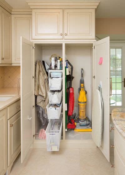 broom and mop cabinet get your broom closet just right
