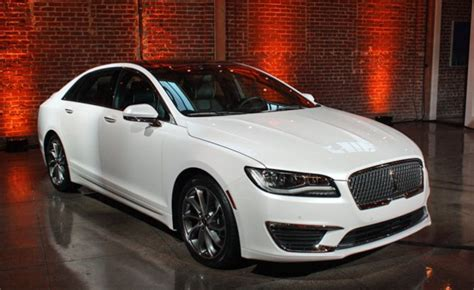 Lincoln Debuts Redesigned 2017 Mkz Hybrid And Non-hybrid