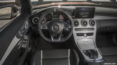 In uk trim at first, but with key details now clear ahead of the us announcement. 2017 Mercedes-AMG C63 S Cabriolet (US-Spec) - Interior, Cockpit | HD Wallpaper #212