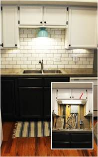 cabinet lighting ideas kitchen diy kitchen lighting upgrade led cabinet lights above the sink light