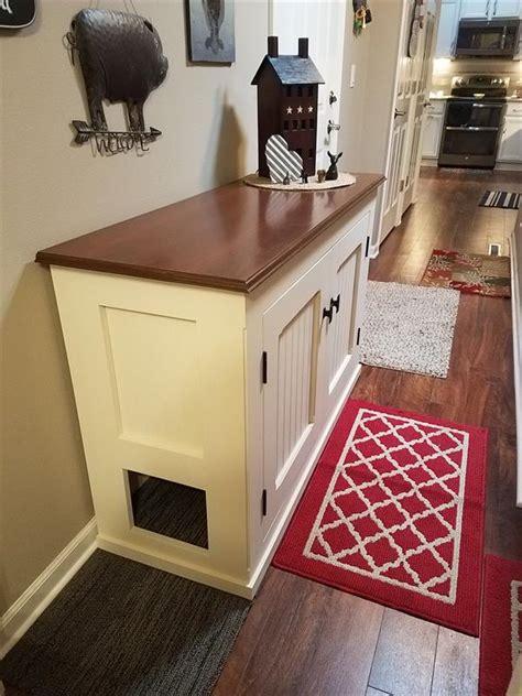 cat litter box cabinet buildsomethingcom