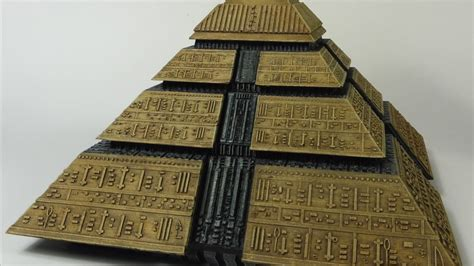 Stargate Movie 1995 Ra Pyramid Model Kit