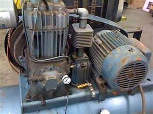 Quincy 325 Air Compressor - Test Run