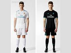 Real Madrid 201718 adidas Home and Away Kits – FOOTBALL
