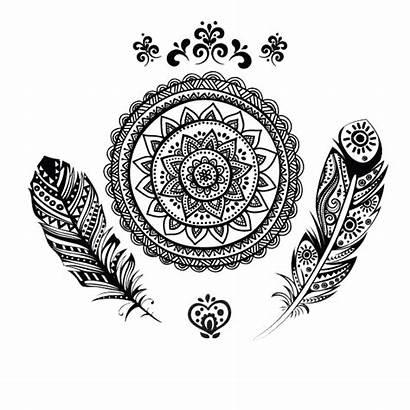 Mandala Indian Tattoos Clipart Downloads