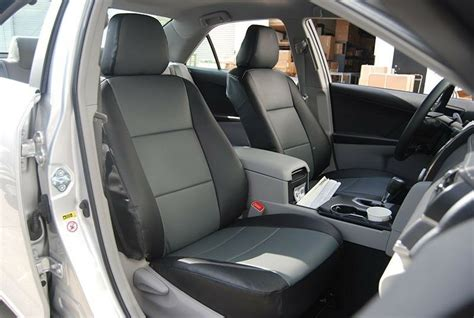 toyota camry   leather  custom seat cover ebay