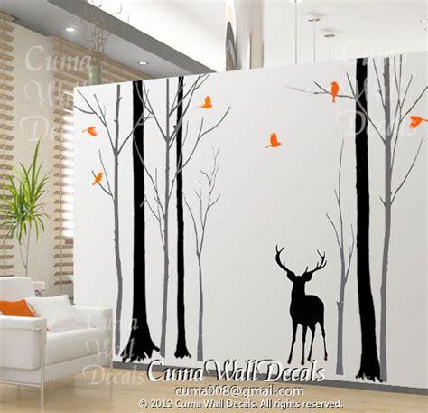 Kinderzimmer Wandgestaltung Wald by Custom Ordertree Wall Decal Nursery Birds Wall Sticke By