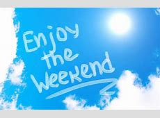 Enjoy the Weekend Shoppydays